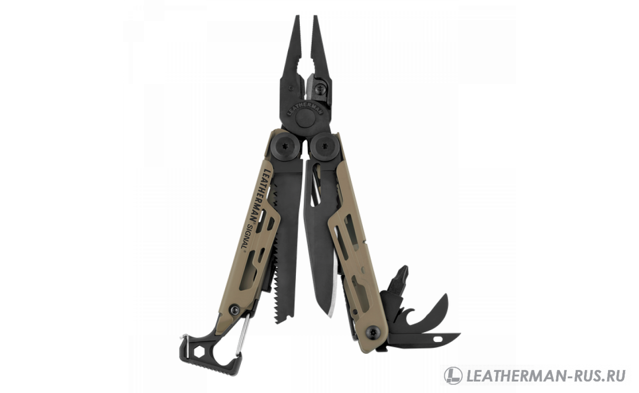 Signal Coyote, 19 функций, нейлоновый чехол 832404 в фирменном магазине Leatherman