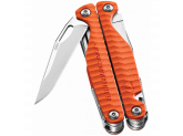 Мультитул Leatherman Charge Plus G10, 19 функций, нейлоновый чехол, оранжевый