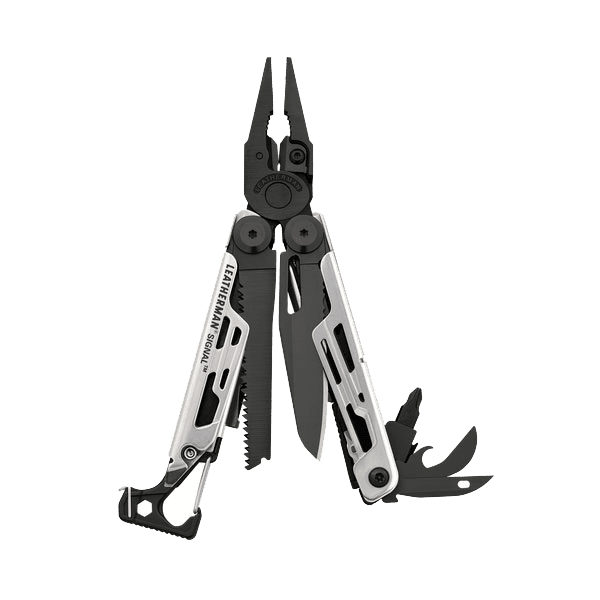 Мультитул Leathermen Signal, 19 функций, черно-серый