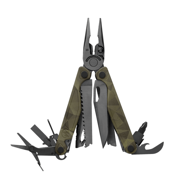 Мультитул Leatherman Charge Plus Camo, 17 функций