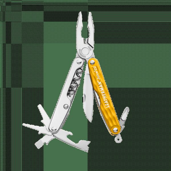 Мультитул Leatherman Juice C2, 12 функций, желтый