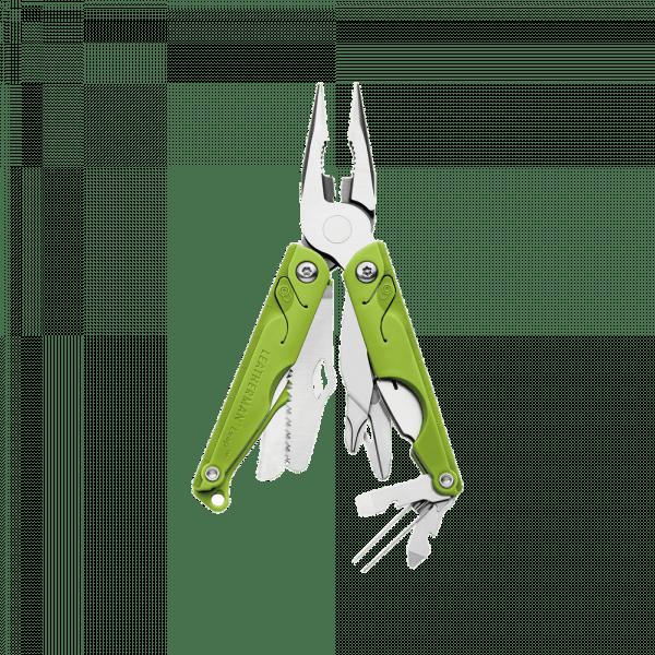 Мультитул Leatherman Leap, 13 функций, зеленый