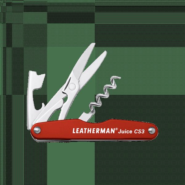 Мультитул Leatherman Juice CS3, 4 функции, оранжевый