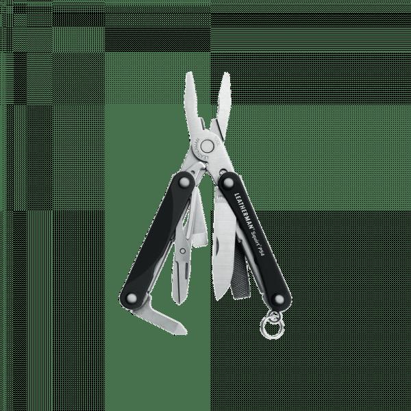 Мультитул Leatherman Squirt PS4, 9 функций, черный