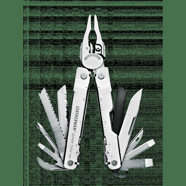 Мультитул Leatherman SuperTool 300, 19 функций, кожаный чехол