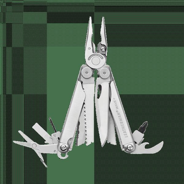 Мультитул Leatherman Wave Plus, 17 функций, нейлоновый чехол