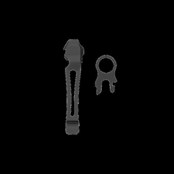 Съёмная клипса и кольцо Leatherman, черный