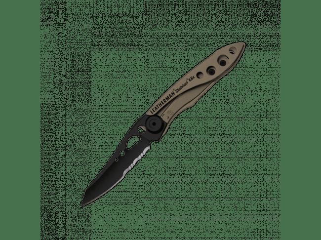 Нож Leatherman Skeletool KBX, коричневый