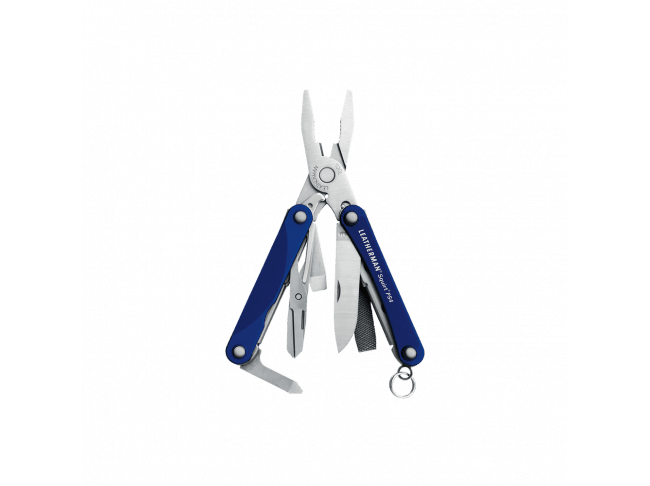 Мультитул Leatherman Squirt PS4, 9 функций, синий
