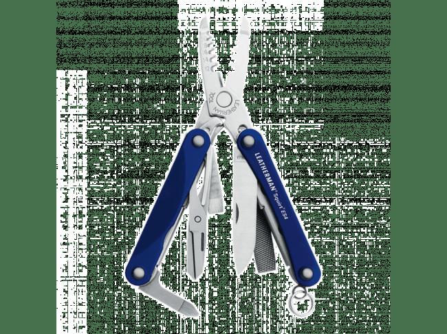 Мультитул Leatherman Squirt ES4, 9 функций, синий