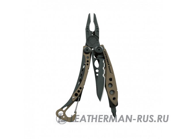 Мультитул Leatherman Skeletool Coyote, 7 функций